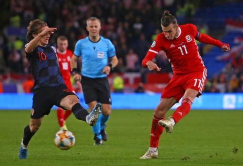 """""""Real"""" duetas patyrė traumas rungtynėse tarp Kroatijos ir Velso"""