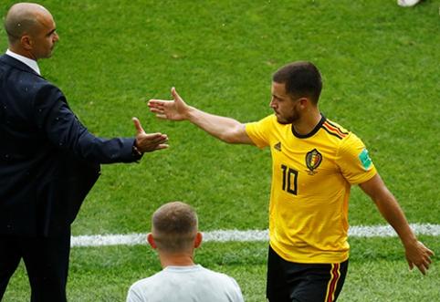 R.Martinezas: E.Hazardas nėra storas