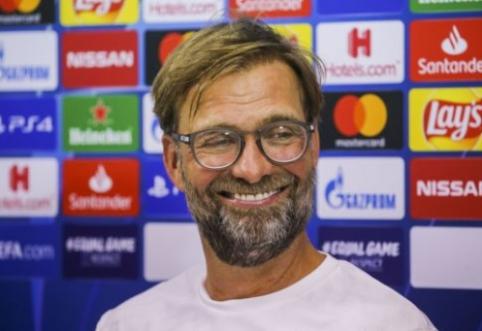 """J. Kloppas apie """"Borussia"""" kvietimą sugrįžti: """"Gal jie išprotėjo?"""""""
