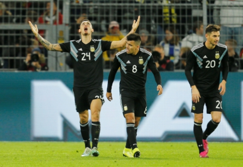 Vokiečiai neišlaikė dviejų įvarčių persvaros mače su Argentina