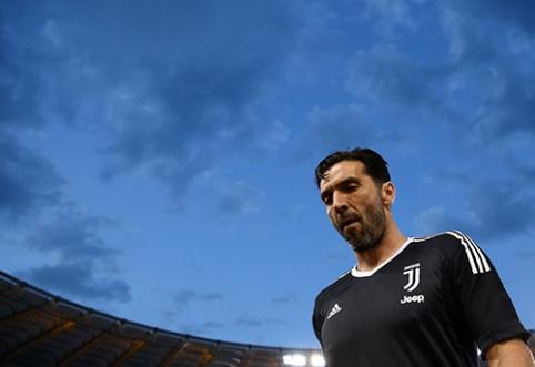 """G.Buffonas: būti atsarginiu žaidėju galiu tik """"Juventus"""" klube"""