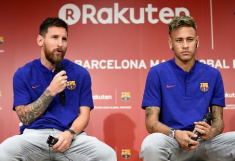 """L. Messi: """"Galvojau, kad Neymaras išvyks į """"Real"""""""