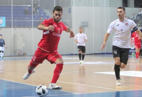 Futsal Čempionų lyga Jonavoje: pirmosios dienos apžvalga