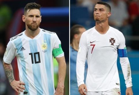 """Po """"Brexit"""" L.Messi ir C.Ronaldo negalės įvažiuoti į Didžiąją Britaniją"""