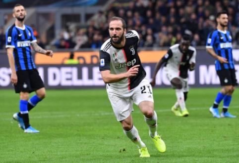 """Lyderių rokiruotė Italijoje: """"Juventus"""" palaužė """"Inter"""" ir pakilo į pirmąją vietą"""