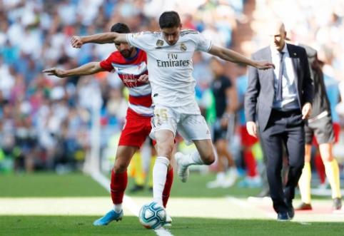 Po pergalės Ispanijos pirmenybėse – Z. Zidane'o liaupsės jaunam urugvajiečiui