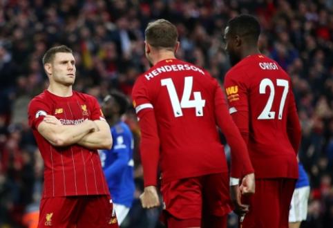 """Nepalaužiamas: """"Liverpool"""" mačo pabaigoje išplėšė pergalę prieš """"Leicester"""""""