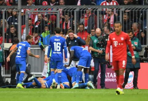 """""""Bayern"""" patyrė pralaimėjimą, BVB ir """"RB Leipzig"""" taip pat barstė taškus"""