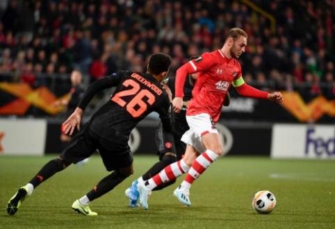 "EL: ""Man Utd"" nesugebėjo įveikti ""AZ Alkmaar"" ekipos, ""Sevilla"" palaužė APOEL"