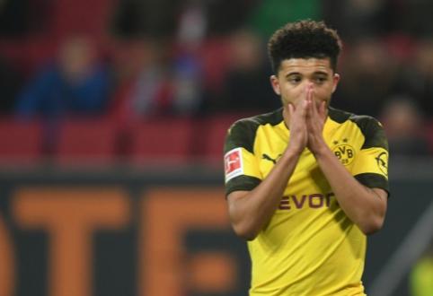 """Borussia"" talento J.Sancho išvykimui - raudona šviesa"