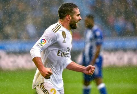 """Ispanijos pirmenybėse – svarbi """"Real"""" komandos pergalė"""