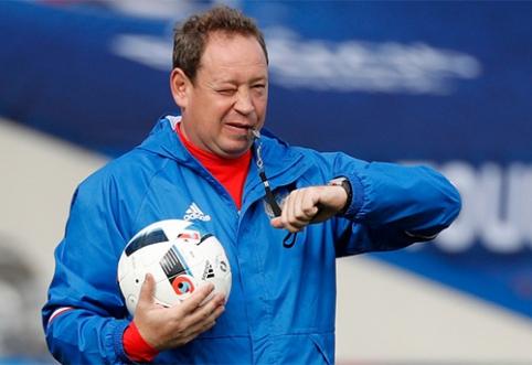 """Vitesse"" direktorius M.Allachas: L.Slutskis nori trauktis"