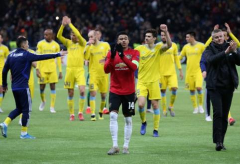 """""""Man Utd"""" patyrė pirmąjį pralaimėjimą Europos lygoje"""