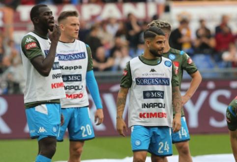 """Italijos spauda: """"Napoli"""" prezidentas žada išparduoti komandos lyderius"""