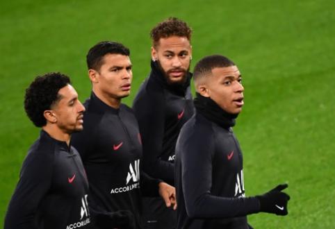 """Madrido """"Real"""" – PSG: keršto troškimas (įdomūs faktai)"""