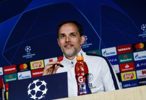 """K. Mbappe klubą priminęs T. Tuchelis: """"Real"""" dabar yra geroje formoje"""""""