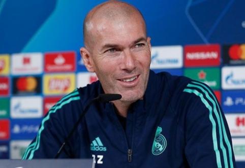 Prieš akistatą su PSG – Z. Zidane'o pagyros varžovams