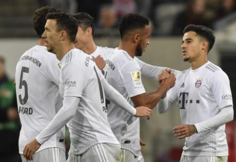 """""""Bayern"""" neturėjo vargo su """"Dusseldorf"""", """"Union"""" įveikė lyderius"""