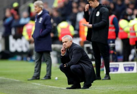 """J. Mourinho debiutinėse rungtynėse – rezultatyvi kova ir """"Tottenham"""" pergalė"""