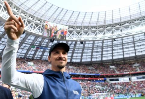 """""""Milan"""" pradėjo kalbėtis su Z. Ibrahimovičiaus atstovu"""