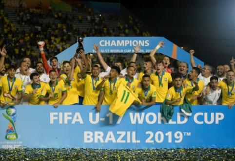 Brazilijos 17-mečiai – geriausi pasaulyje