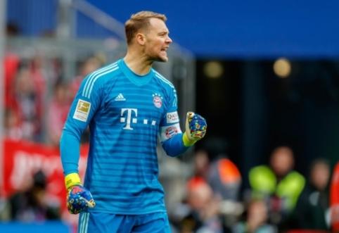 """""""Bayern"""" ketina nurašyti M.Neuerį?"""