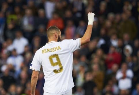 """K. Benzema atkirtis Prancūzijos futbolo vadovui: """"Tik aš spręsiu, kada baigti karjerą nacionalinėje komandoje"""""""