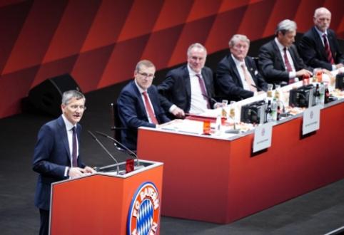 """""""Bayern"""" išsirinko naują prezidentą"""