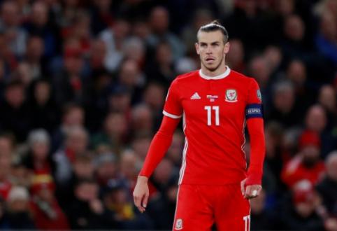 """G. Bale'as: """"Žaidimas Velso rinktinėje man teikia daugiau džiaugsmo"""""""