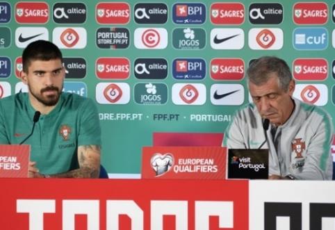 F.Santosas: galėjome įmušti ir daugiau