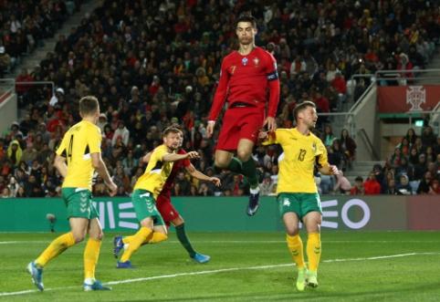 Ciklo pabaiga: Lietuvos rinktinė beviltiškai pralaimėjo Portugalijai