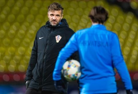 Kroatijos U-21 rinktinės treneris: norime nugalėti lietuvius