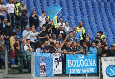 """Neeilinė situacija """"Napoli"""" klube: sirgaliai pradėjo rengti išpuolius prieš žaidėjus ir jų šeimas"""