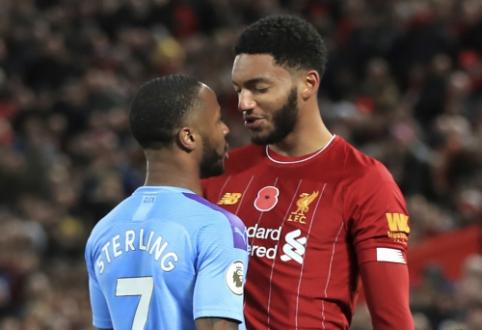 """Po pralaimėjimo prieš """"Liverpool"""" neatvėsęs R. Sterlingas – pašalintas iš Anglijos rinktinės sudėties"""