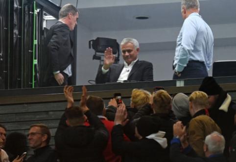 """J. Mourinho: """"Premier"""" lygos titulo lenktynės jau yra baigtos"""""""