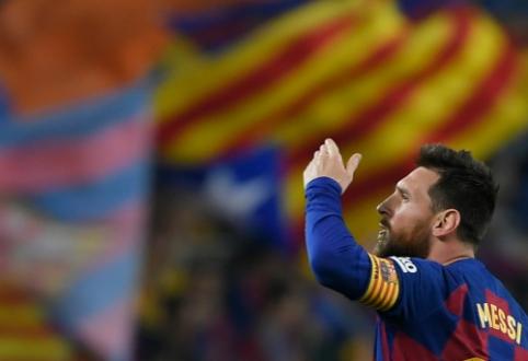 J.Bartomeu: L.Messi mūsų ekipoje gali žaisti dar penkis sezonus