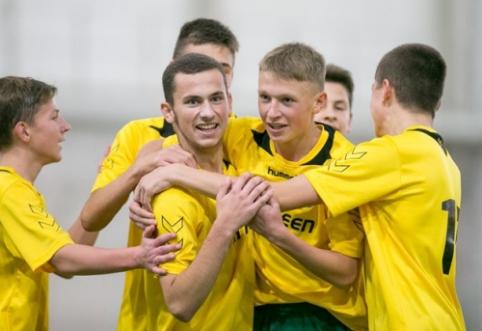 Regionų pirmenybių U-16 komanda žais finale