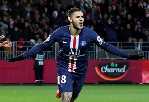 """""""Ligue 1"""": vienintelė svečiuose triumfavusi komanda - PSG"""