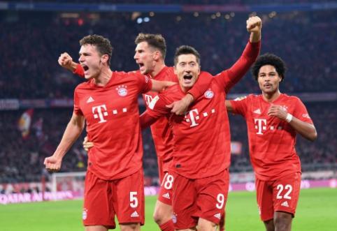 """Der Klassiker"": ""Bayern"" namuose pervažiavo BVB"