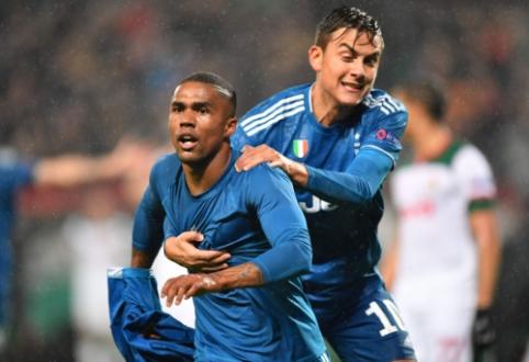 """""""Juventus"""" ir """"Bayern"""" futbolininkų rankose – bilietai į Čempionų lygos aštuntfinalį"""