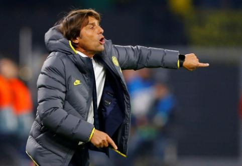 """Į vadovybę pirštais badęs A. Conte: """"Pasiekėme savo ribą"""""""