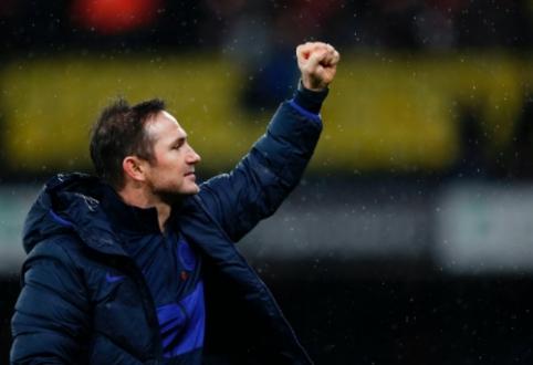 """F. Lampardas vis dar pasigenda nuoseklumo """"Chelsea"""" komandoje"""