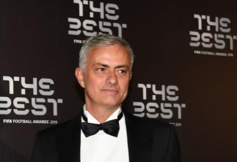 """""""Arsenal"""" paneigė pranešimus apie susitikimą su J. Mourinho"""