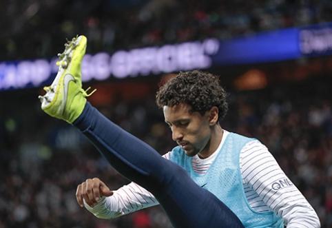 PSG planuoja pratęsti kontraktą su Marquinhosu