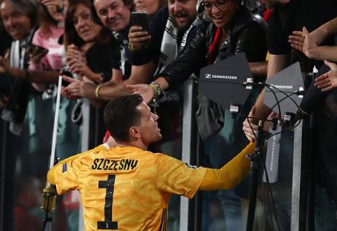 """""""Juventus"""" toliau siūlo W.Szczesny naują kontraktą"""