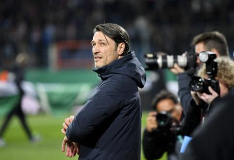 """""""Bayern"""" fanus įsiutinęs N. Kovačas nuomonės nekeičia: """"Eintracht"""" turi išskirtinį fanų palaikymą"""""""