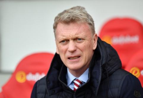 "D. Moyesas – pagrindinis kandidatas stoti prie ""West Ham"" vairo"