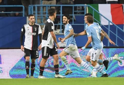 """Lazio"" iškovojo Italijos Supertaurę"