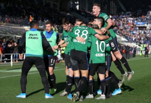 """""""Atalanta"""" namuose pažemino """"AC Milan"""" ekipą"""