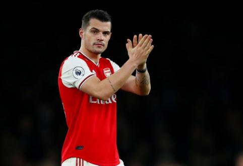 """""""Bild"""": G. Xhaka sausį paliks """"Arsenal"""""""